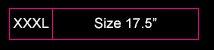 Sizes 17.5'
