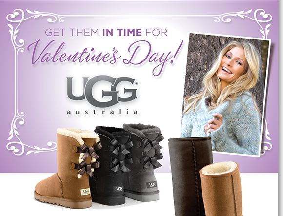 Get them in time for Valentine's Day! Shop the ultimate UGG® Australia Classics like the Classic Tall, Classic Short, Bailey Bow and more, the best styles are in-stock now. The perfect gift, shop now to find the best selection online and in-stores at The Walking Company.