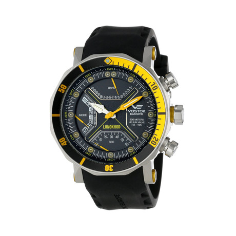 Lunokhod 2 Chronograph Multi-Function Dive // Yellow