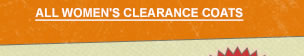 Womens Clearance Coats