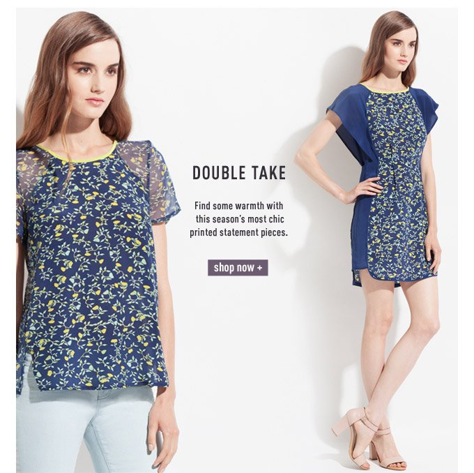 Double Take - Shop Now