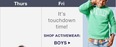 SHOP ACTIVEWEAR: BOYS