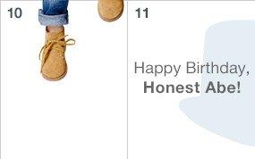 Happy Birthday, Honest Abe!