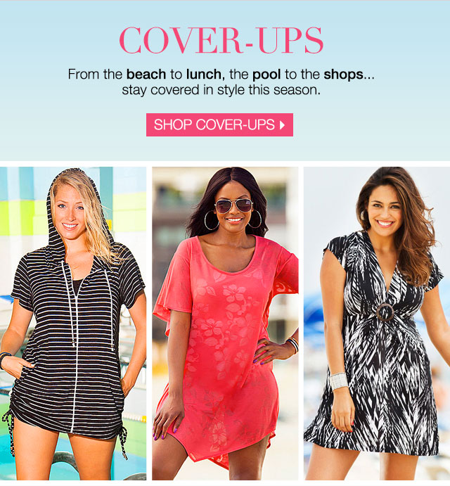 Find your perfect cover-up now