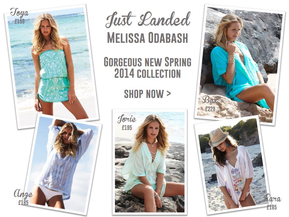 JUST LANDED: New Melissa Odabash Spring 2014 Collection