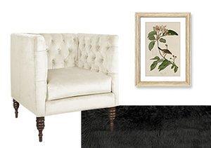 Classic Palette: White, Black & Neutral