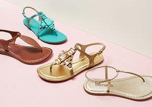 Warm Weather Ready: Sandals
