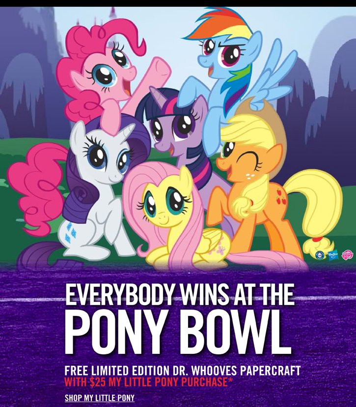 EVERYBODY WINS AT THE PONY BOWL