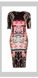 Orchid Mirror Bodycon Dress