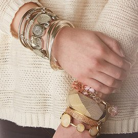 Bring on the Bling: Cuffs & Bracelets