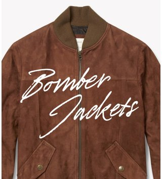 Bomber Jackets: The classic jacket that every man should own. Shop now