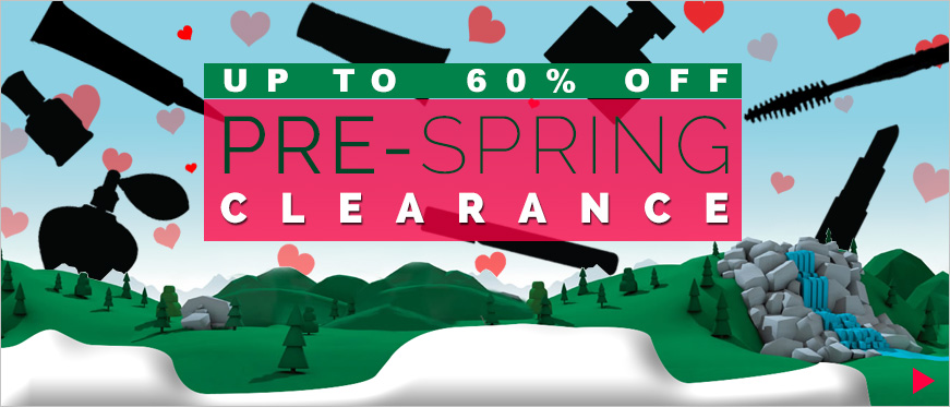 Up to 60% Off Pre-Spring Clearance
