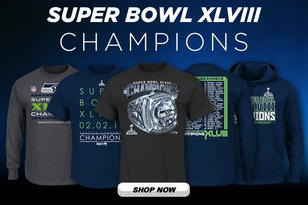 Shop Super Bowl XLVIII Gear and More