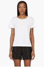 LEVI'S VINTAGE CLOTHING White Bias-Cut T-Shirt for women