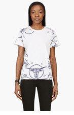LEVI'S VINTAGE CLOTHING Blue 1940's Bandana Print t-shirt for women