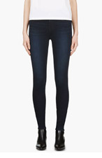 J BRAND Deep Blue Atmosphere Maria High-Rise Jeans for women