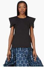 COMME DES GARÇONS Black Pointed Ester T-Shirt for women