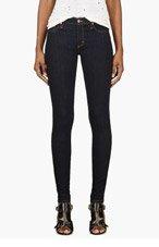 NOBODY Blue Skinny Mod Jeans for women