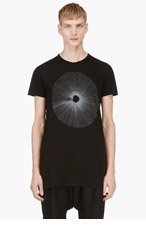 SILENT BY DAMIR DOMA Black Silent Logo T-Shirt for men