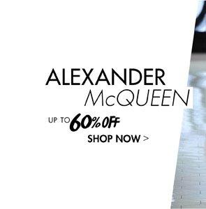 ALEXANDER McQUEEN UP TO 60 OFF