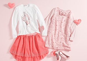 Little Valentine: Girls' Outfits