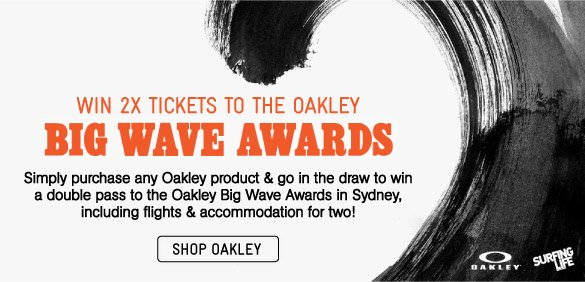Win2x Tickets To Oakley Big Wave Awards