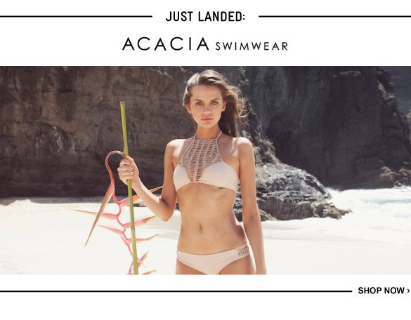 Just Landed: Acacia Swimwear - Shop Now
