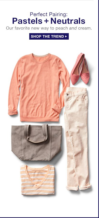 Perfect Pairing: Pastels + Neutrals | SHOP THE TREND