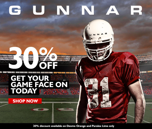 Gunnarbowl 2014 - Vision vs. Glare | Protect your vision and Save up to 40%