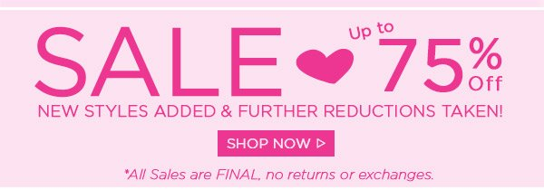 Sale! New Styles Added - Shop Now