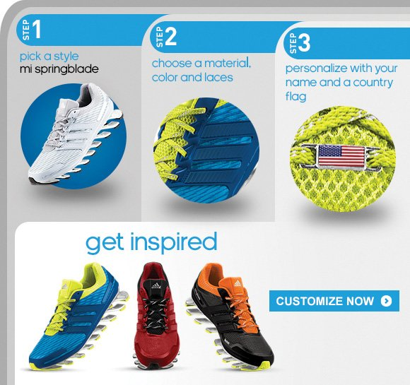 Customize the mi Springblade Running Shoes »