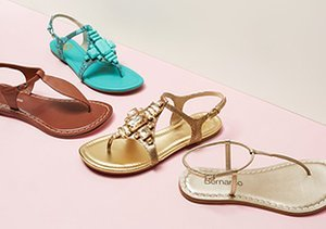 Warm Weather Ready: Sandals