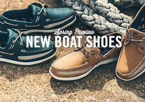 Shop Spring Preview: NEW Boat Shoes