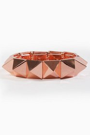 On Point Pyramid Bracelet 16