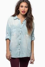 Per Denim Button Up Shirt 47