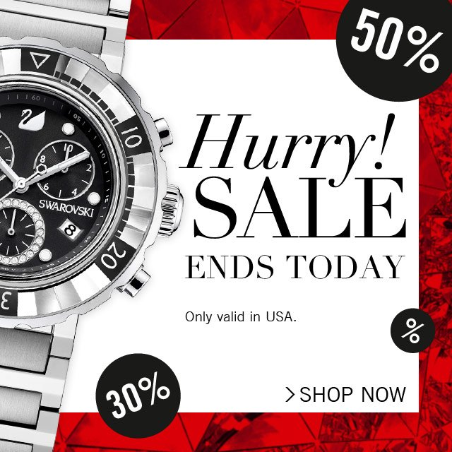 Hurry! SALE ends TODAY