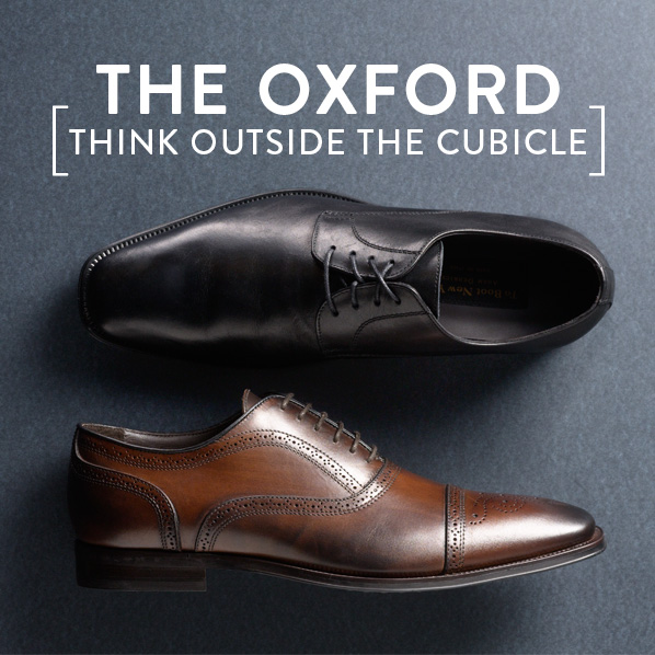 THE OXFORD [THINK OUTSIDE THE CUBICLE]