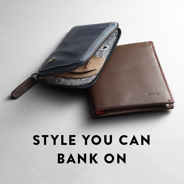 STYLE YOU CAN BANK ON
