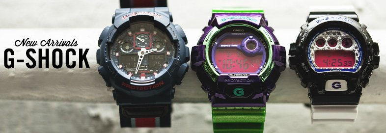 Shop New Arrivals: Neon G-Shock & More