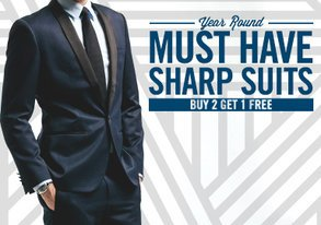 Shop Sharp Suits for Every Season