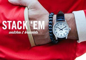 Shop Super Stackable: Watches & Bracelets