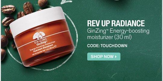 REV UP RADIANCE GinZing Energy boosting moisturizer 30ml CODE BRONCOS SHOP NOW