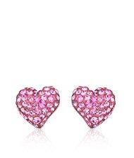 Eros Rose Pierced Earrings