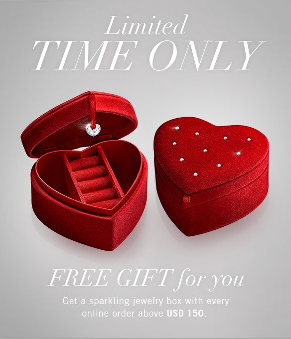 Free gift for you LIMITED TIME ONLY