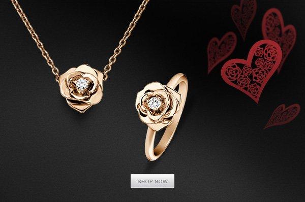 Rose Ring & Pendant - G34UR400 & G33U0081