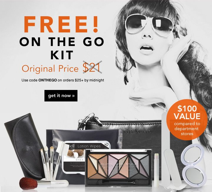 Free! On The Go Kit  Use Code: ONTHEGO Get it Now!