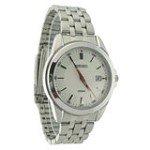 Seiko SGEG83 Men's Dress Silver Dial Stainless Steel Bracelet Quartz Watch