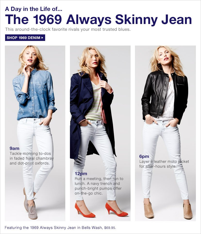 A Day in the Life of... The 1969 Always Skinny Jean | SHOP 1969 DENIM