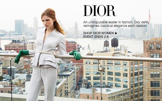 Shop Dior.