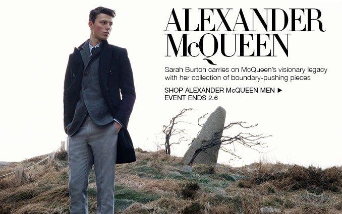 Shop Alexander McQueen.